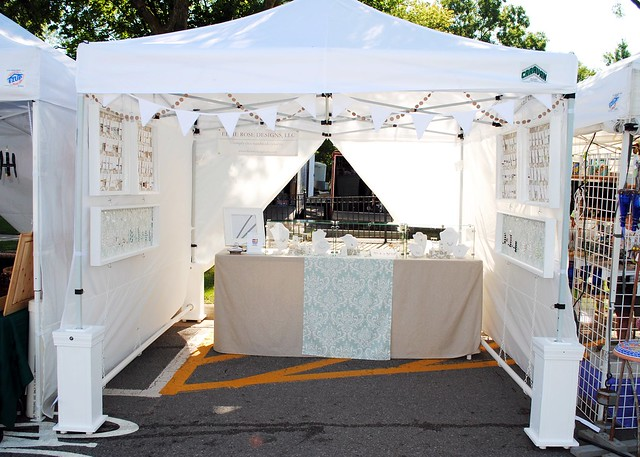 Craft Show Display Tents http://www.flickr.com/photos/ellierosedesigns/6045617869/