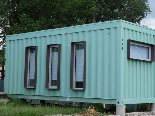 Jones-Glotfelty Shipping Container House, Flagstaff AZ