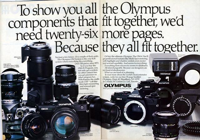 Olympus OM System - 1985