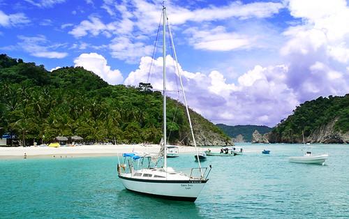 sailboat_Costa Rica_Island