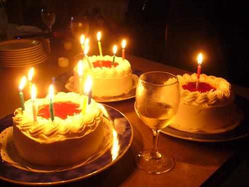3 Birthday cakes