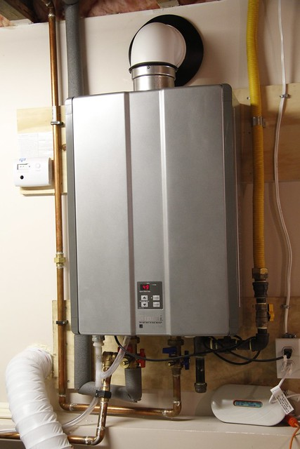 On Demand Hot Water Heater In Tina 39 S Home Flickr Photo