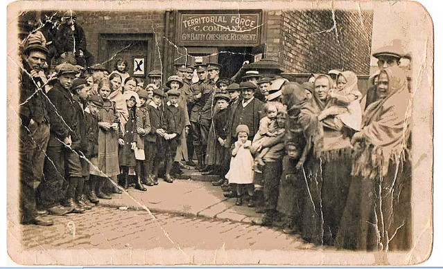 Recruitment during The Great War. Hyde, Cheshire