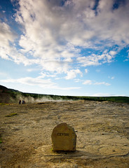 Geysir. Sort of.