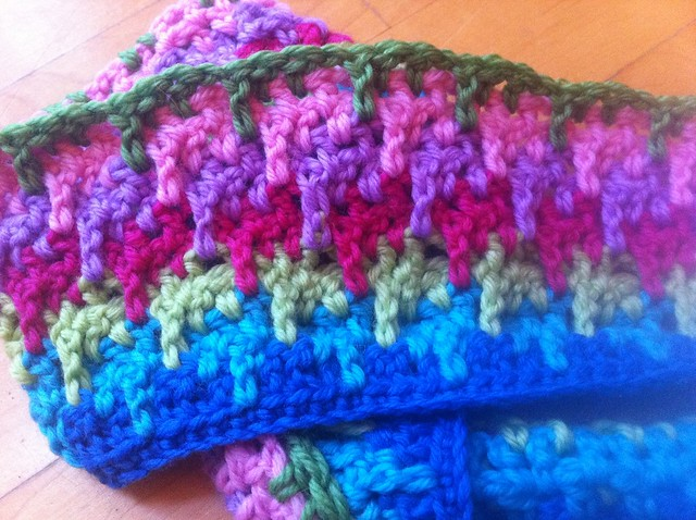 New Crochet : wip - new crochet stitch Flickr - Photo Sharing!