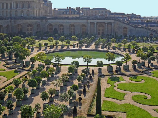 Ch teau de versailles yvelines l 39 orangerie le for Chateau des yvelines