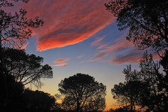 Camping sunset - Photo of Aigremont