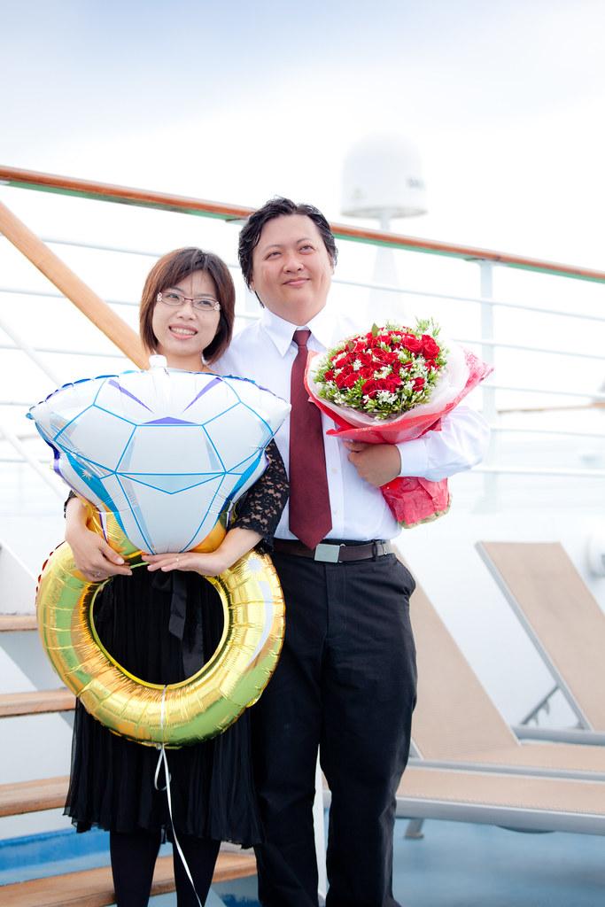 麗星遊輪|ROCO 驚喜求婚 @3C 達人廖阿輝