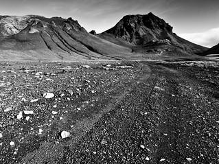 Glacial Landscape (B&W)