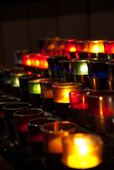 Candles in St James