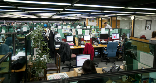 El Mercurio newsroom