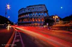 Rome in the Blue Hour