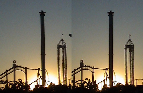 california sunset shadow sky color tree silhouette sign night stereogram stereophotography 3d crosseye twilight berry gate ride 1st farm main entrance first grand palm stereo skytower stereopair stereograph coaster americas stereography themepark buenapark viewmaster thrill attraction knotts knottsberryfarm ticketbooth silverbullet xcelerator stereographic threedimension supremescream montezoomasrevenge stereophotograph stereoptical cobraroll fiestavillage windseeker trv350 stereooptical disneywizard sonydcrtrv350