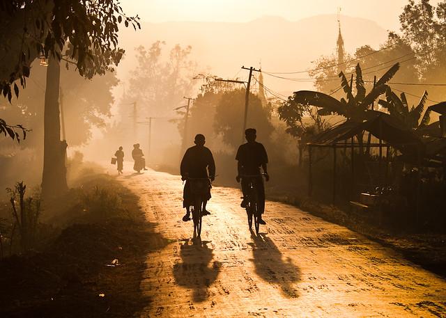Biking to market