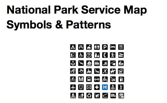 park service mapsymbols wwwnpsgovhfccartomap