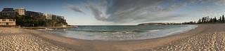 Imagem de  North Steyne Beach perto de  Northern Beaches. sunset panorama seascape beach manly