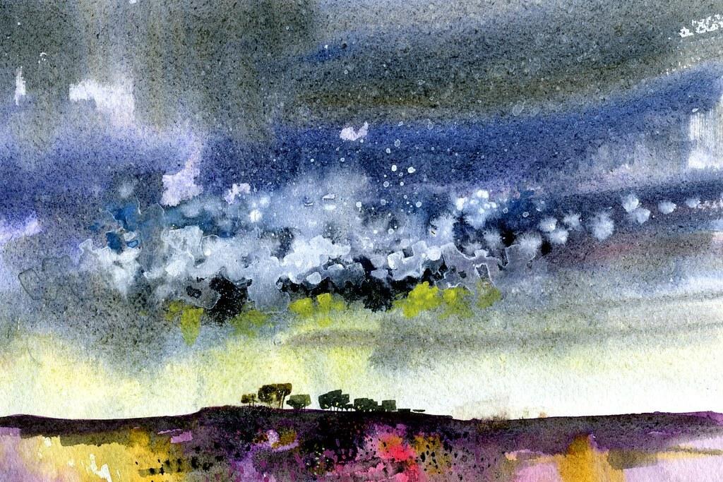 Paul Steven Bailey-英國畫家·保羅 史蒂文·貝利·圍繞家裡的景觀是主要靈感的來源 ,具有半抽象觸感的風景畫。。。 - ☆平平.淡淡.也是真☆  - ☆☆milk 平平。淡淡。也是真 ☆☆