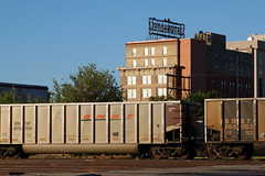 BNSF coal hopper, Wichita Falls TX