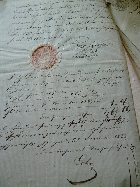 Old document, by storebukkebruse