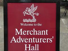Yorkshire Holiday 2011, Mechant Adventurers Hall in York.
