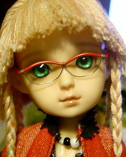 Anjeni's Red Glasses