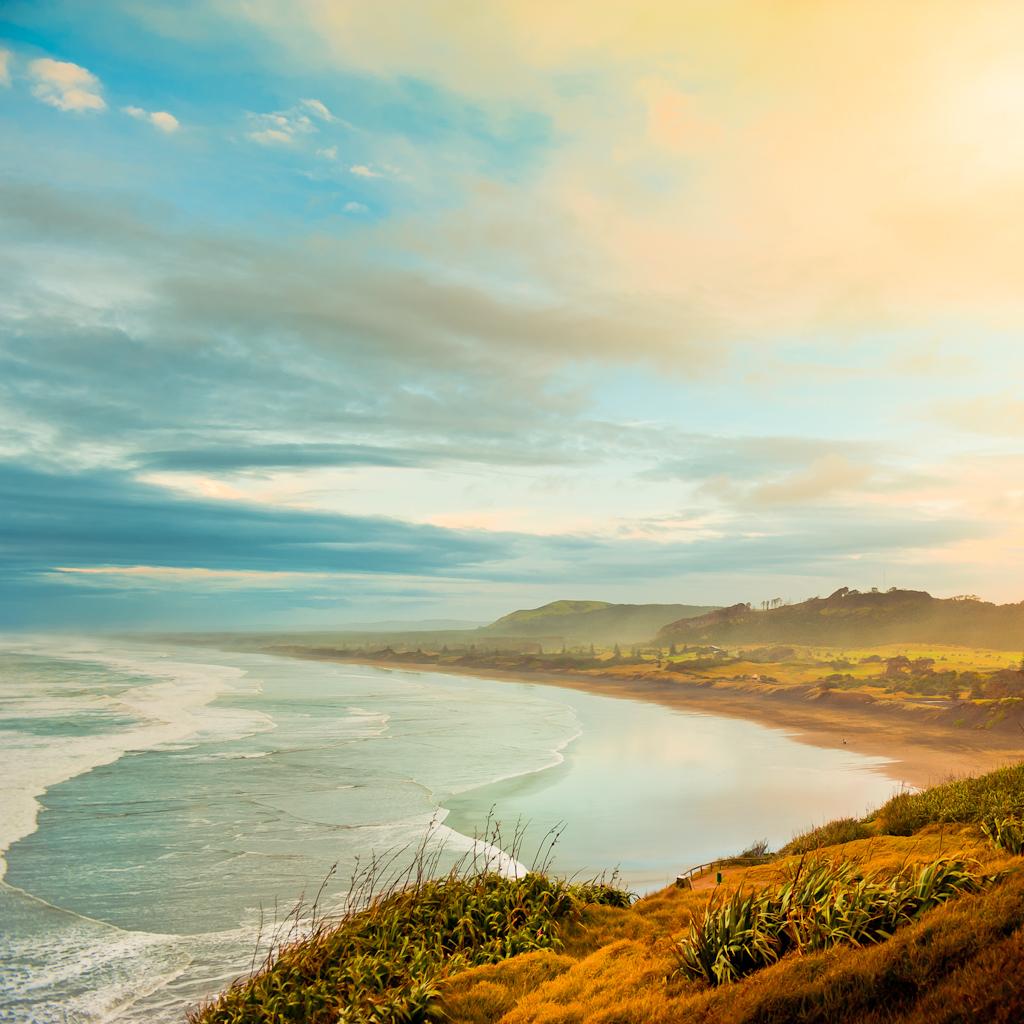 пляж Муриваи (Muriwai)