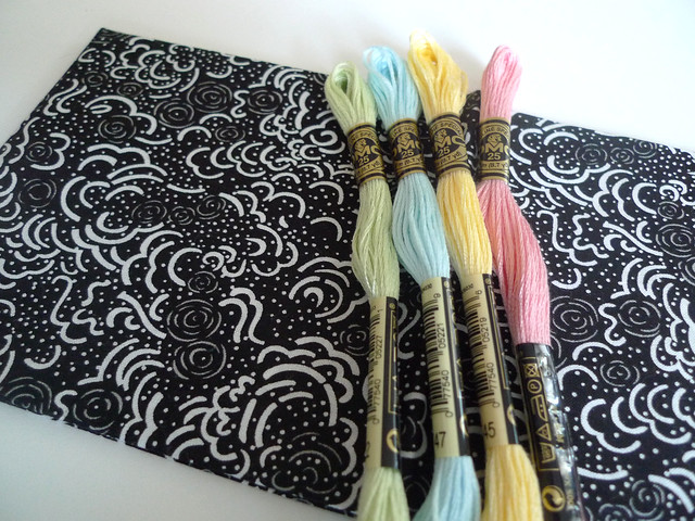 stitchalong materials