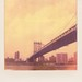 Manhattan Bridge Revisited, Brooklyn (Polaroid)