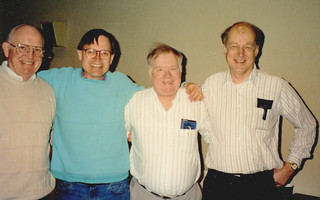 Capital Centre - Roger with Army Friends (1992)