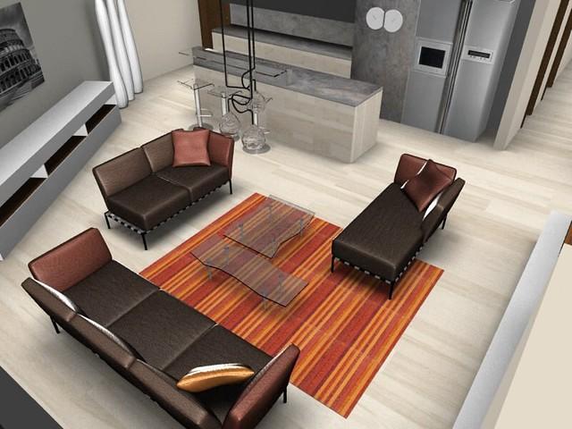 Ligne Roset interior design - Rendering by Ligne Roset