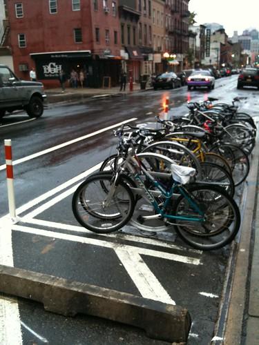 Bike parking spots!