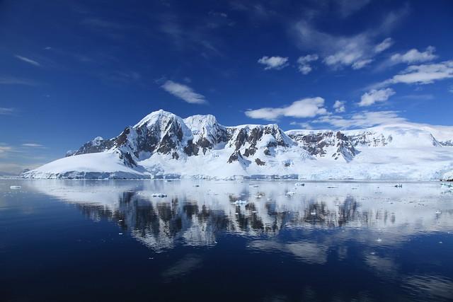 Canal de Lemaire, La Antártida