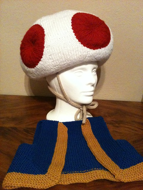 how to make a toad hat
