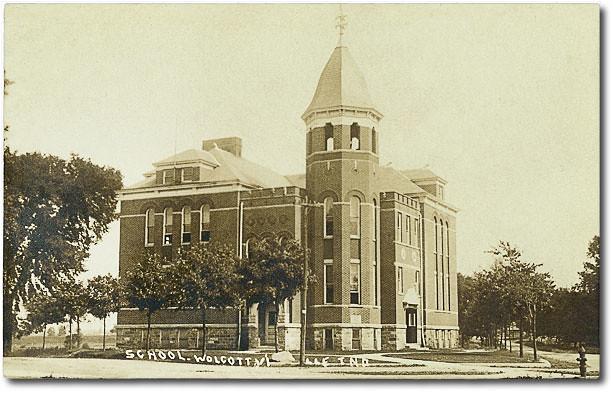 School, Wolcottville, Indiana