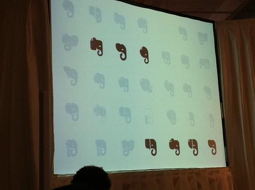 Evernote elephant logo story