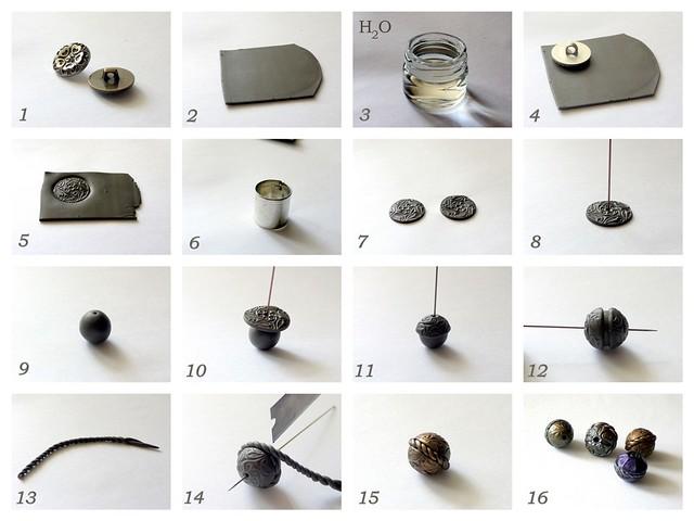 Обзор- нестандартные инструменты и материалы для полимерной глины.