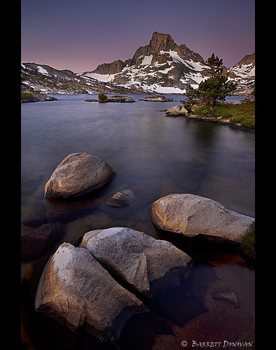 Morning Alpenglow, Ansel Adams Wilderness