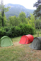 Camping at Le Cremade