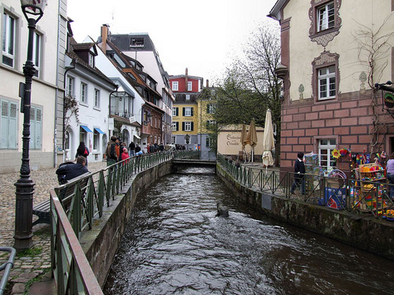 Gerberau, Freiburg, photo by Robert Cutts, cc, via flickr