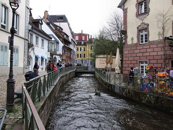 Gerberau, Freiburg, photo by Robert Cutts, cc, via flickr