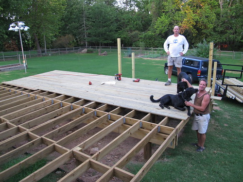 Do it yourself deck