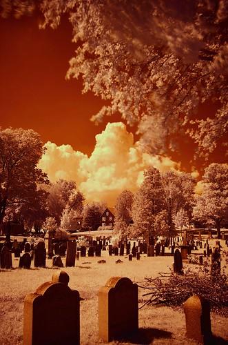 summer cemetery connecticut center infrared cromwell cromwellburialground johnjmurphyiii