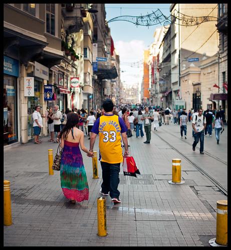 Abdul-Jabbar in Taksim