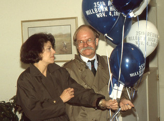 Millburn H.S. 35th Reunion - Walter and Priscilla Reichel