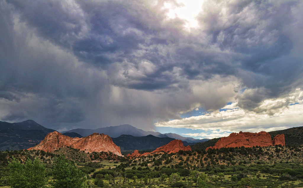 Garden Of The Gods Colorado Springs Co >> Elevation of Mount Rosa, Mt Rosa, Colorado, USA ...