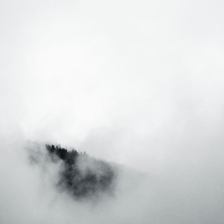 foggy mountain tops
