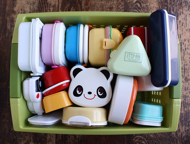 Bento box storage