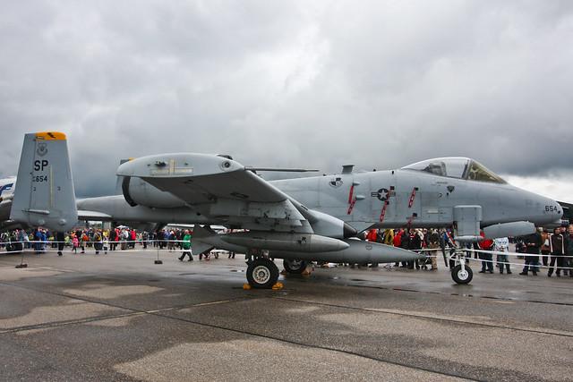 USA - Air Force - 81-0654 - Fairchild A-10A Thunderbolt II