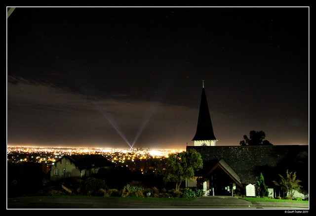 Earthquake Lights Over Christchurch The White Lights Of