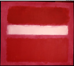 White Stripe, 1958, by Mark Rothko
